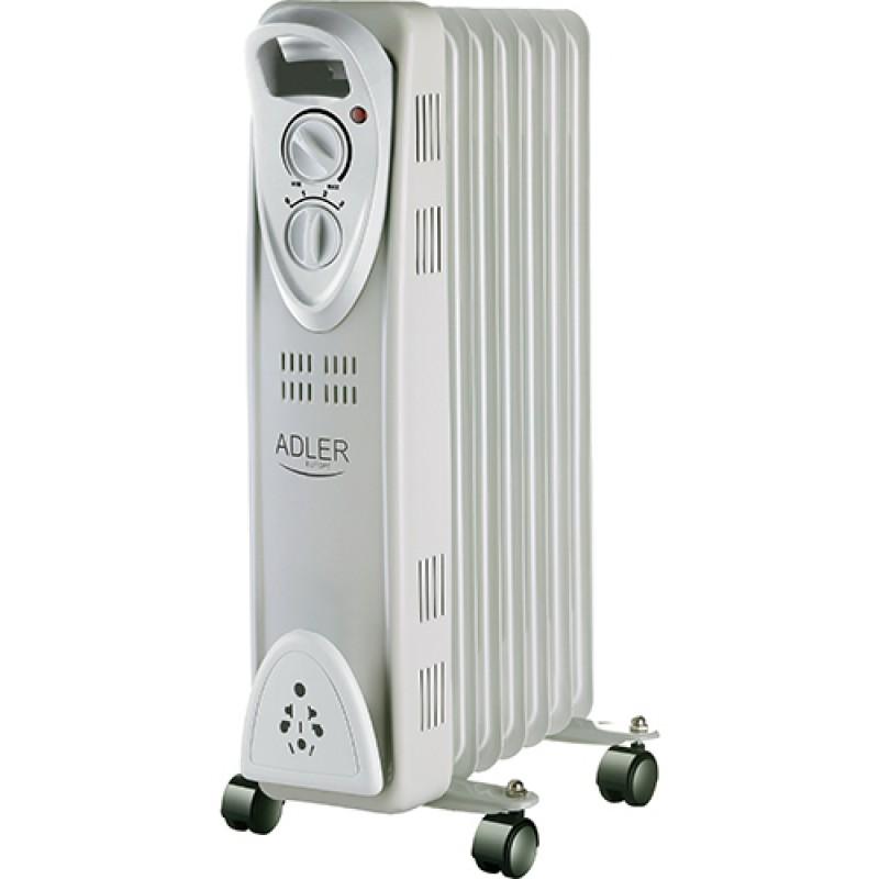 Adler oljni radiator 1500W bel