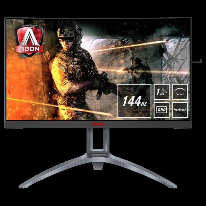 AOC AGON AG273QCX 27'' gaming ukrivljen monitor