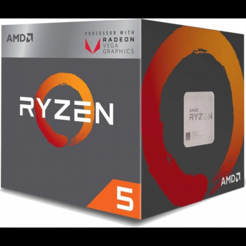 AMD Ryzen 5 2400G procesor z RX Vega integrirano grafiko