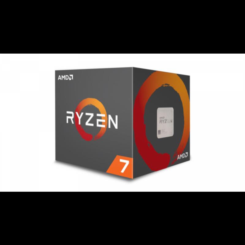 AMD Ryzen 7 2700X procesor z Wraith Prism hladilnikom