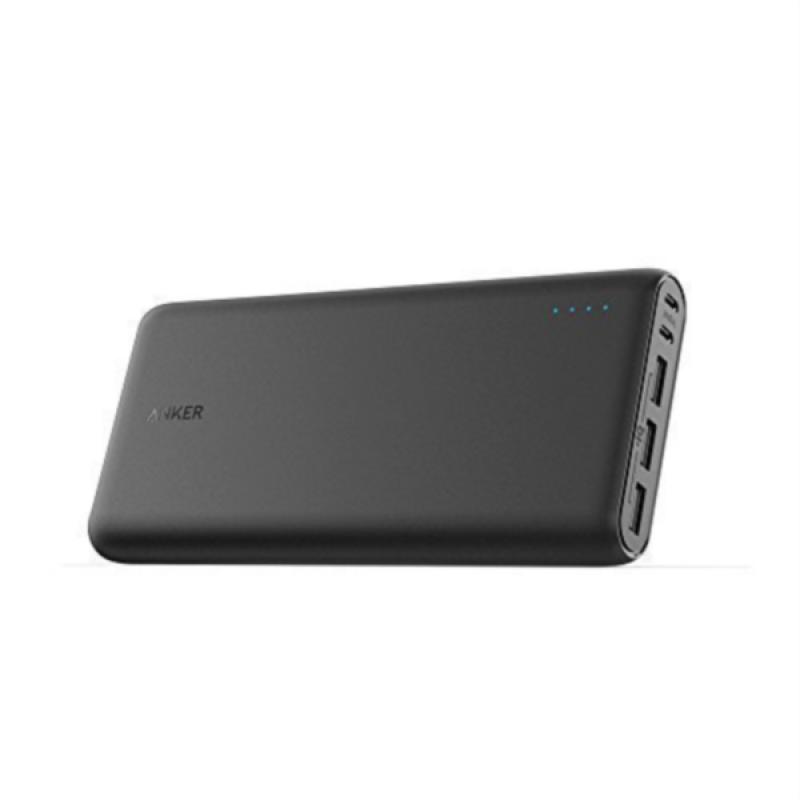 Anker PowerCore 26.800 dual micro-USB input črn