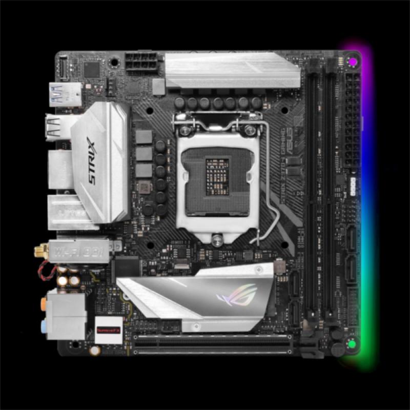 ASUS STRIX Z370-I GAMING, DDR4, SATA3, USB3.1Gen2, DP, WiFi, LGA1151 mini ITX