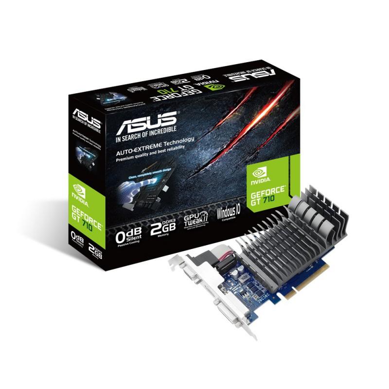 Grafična kartica ASUS GeForce GT 710, 2GB GDDR3, PCI-E 2.0
