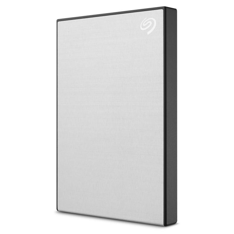 Seagate 2TB BackUp Plus Slim, prenosni disk 6,35cm (2,5) USB 3.0, srebrn