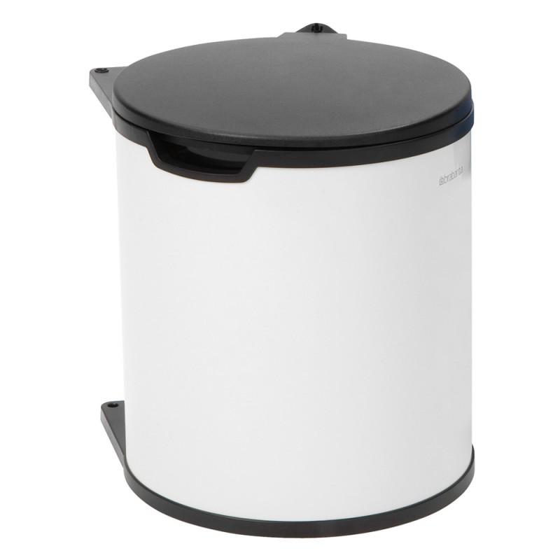 Brabantia vgradni koš za smeti 15L bel