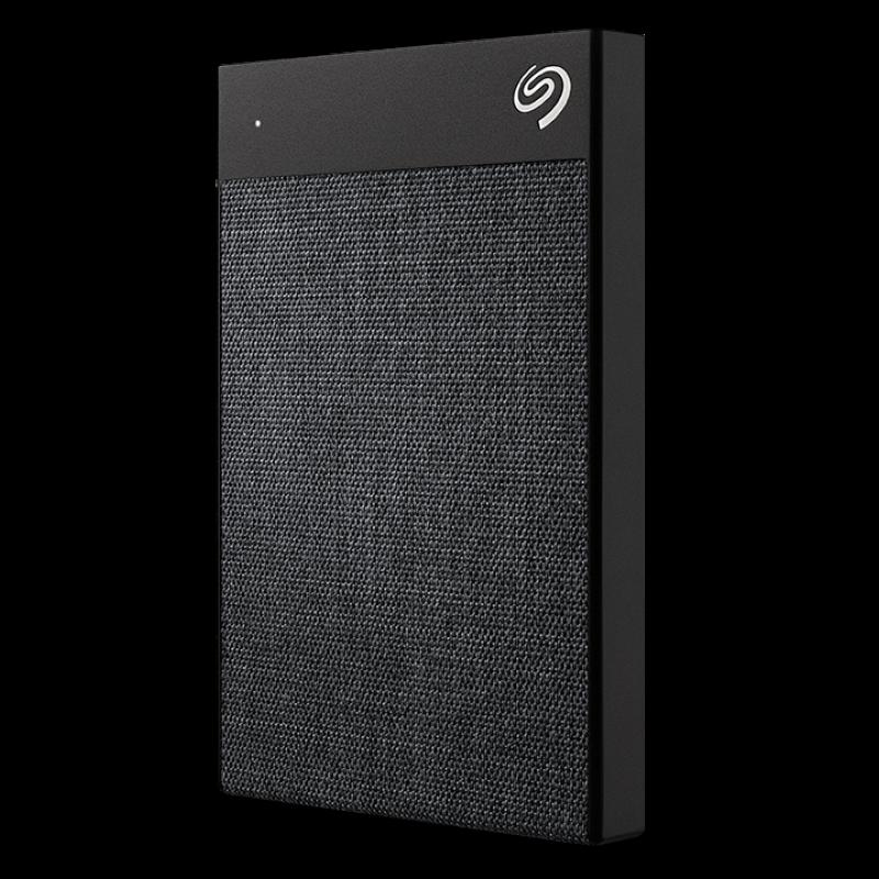 Seagate 2TB BackUp Plus Ultra Touch, prenosni disk 6,35cm (2,5) USB-C, črn