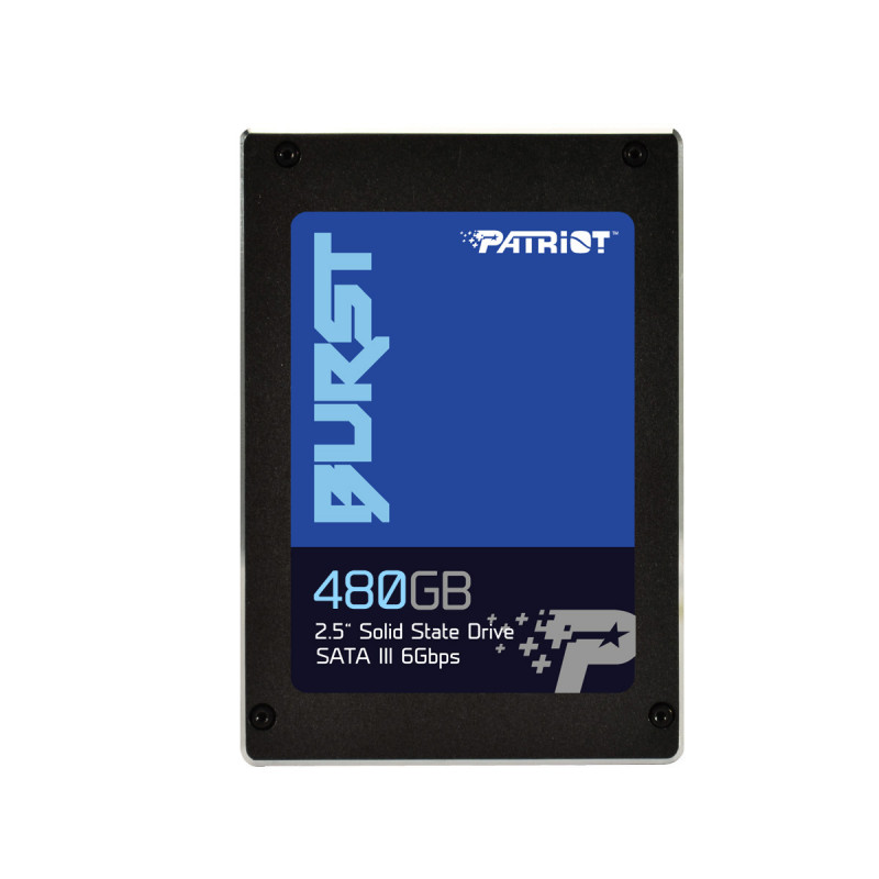 "Patriot Burst 480GB SSD SATA 3 2.5"""