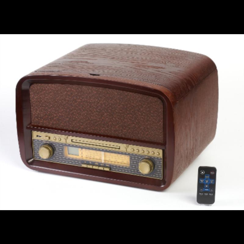 Retro gramofon/radio/CD player/USB player/snemalnik MP3