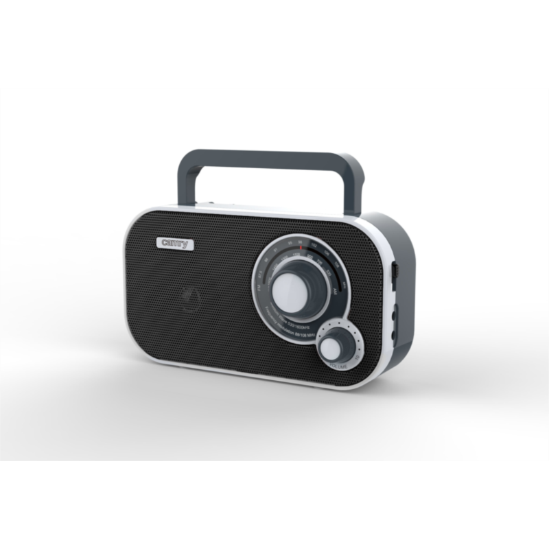 Camry prenosni radio črn