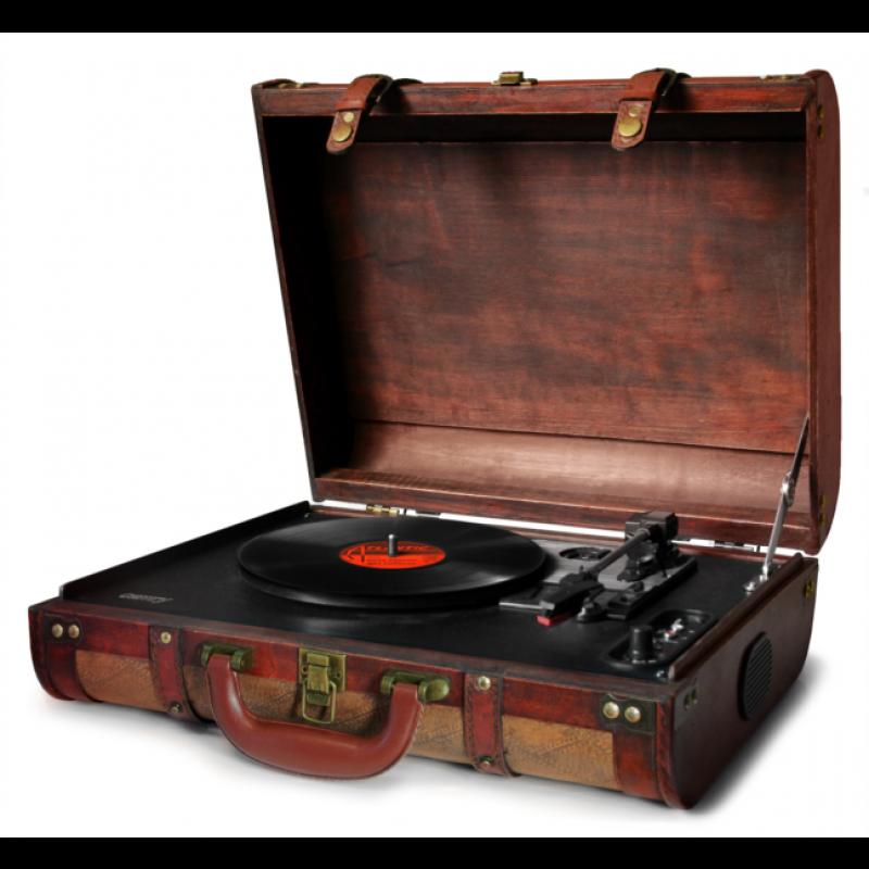 Camry vintage prenosni gramofon v kovčku