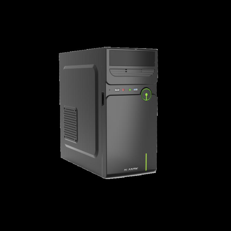 ALANTIK CASM12 USB3 mATX ohišje z 500W napajalnikom + čitalec kartic