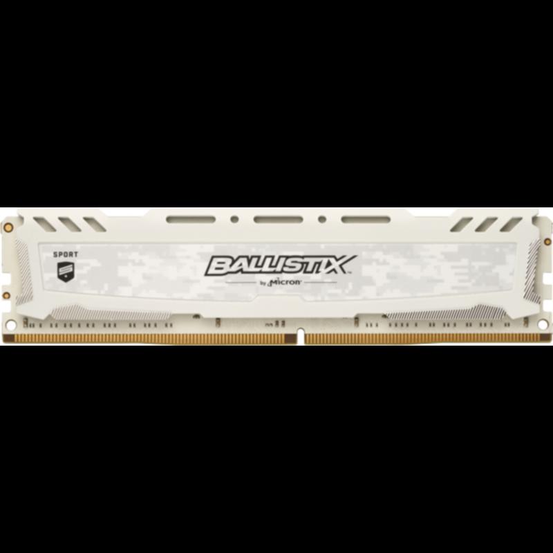 CRUCIAL 16GB DDR4 2666 CL16 1.2V DIMM Ballistix Sport LT, bel