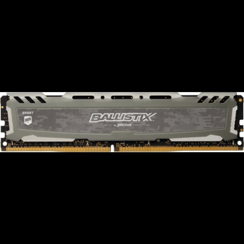 CRUCIAL 8GB DDR4 2666 CL16 1.2V DIMM Ballistix Sport LT, siv