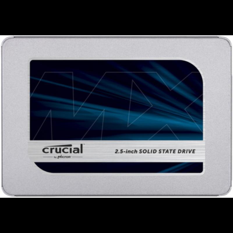 Crucial MX500 250GB SATA 2.5 7mm (z 9.5mm adapter) Internal SSD