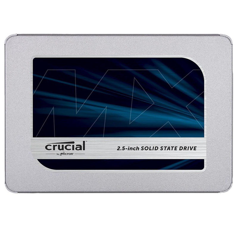 Crucial MX500 500GB SATA 2.5 7mm (z 9.5mm adapter) Internal SSD