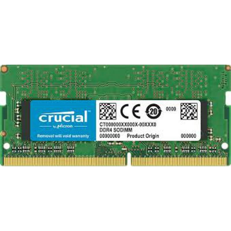 Crucial 8GB DDR4-2400 SODIMM PC4-19200 CL17, 1.2V