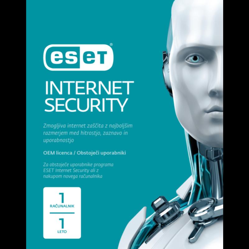 ESET Internet Security - 1 leto OEM