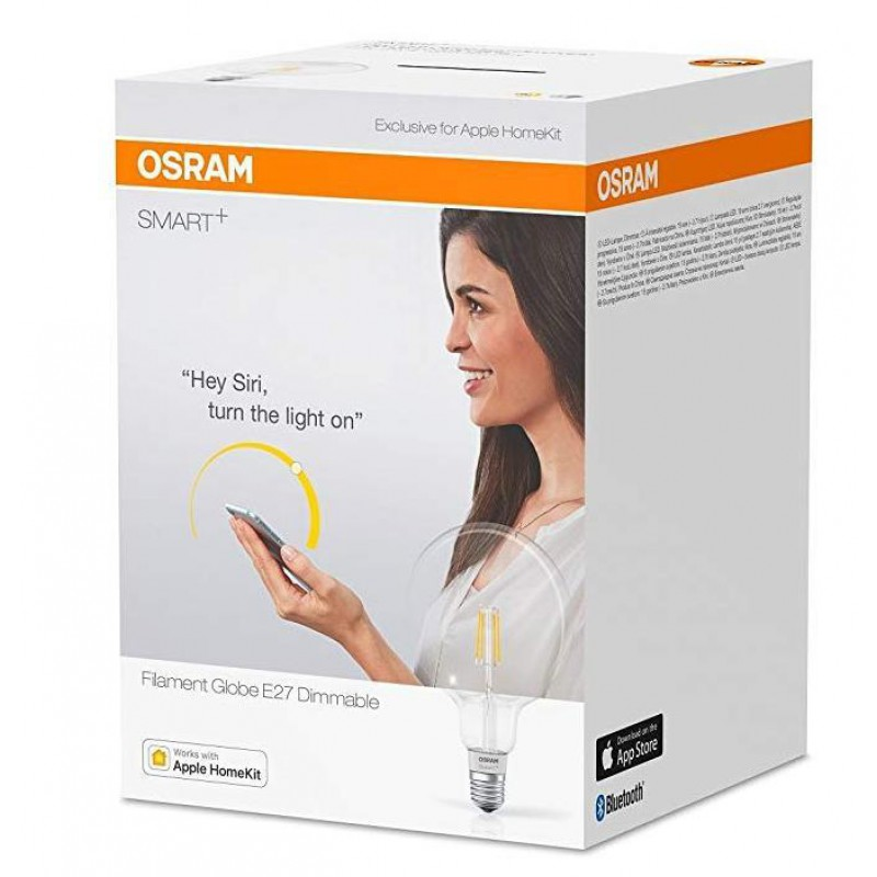 Ledvance/Osram 4058075091108 SMART + Led Sijalka s filamentom 5.5W 650lm Bluetooth - APPLE HOME KIT