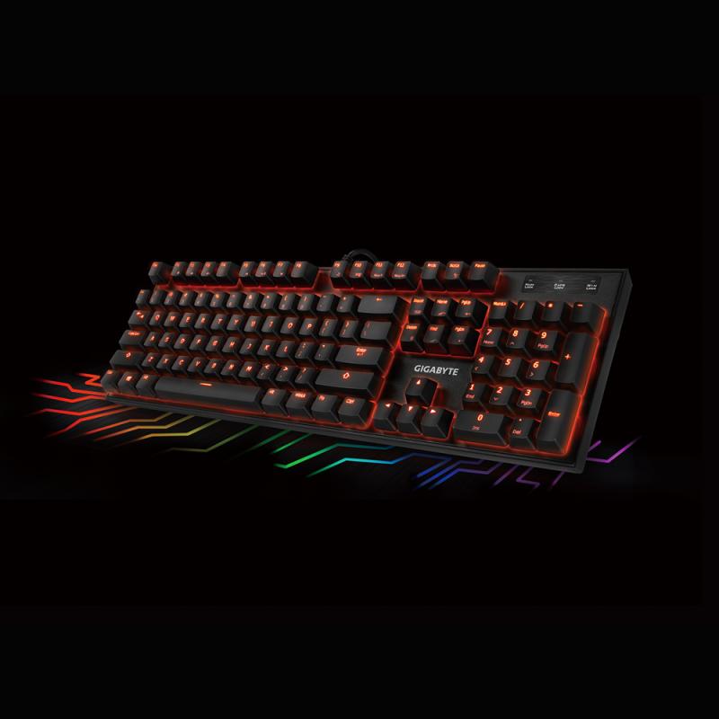 GIGABYTE FORCE K85 RGB gaming tipkovnica, USI layout