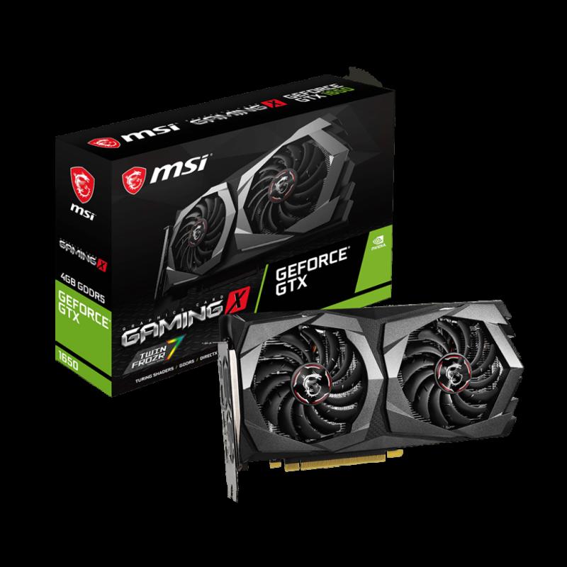 Grafična kartica MSI GeForce GTX 1650 GAMING X 4G, 4GB GDDR5, PCI-E 3.0