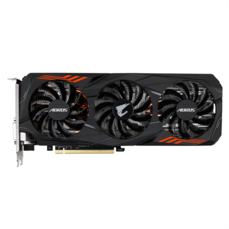Grafična kartica GIGABYTE GeForce GTX 1070 Ti Aorus 8G, 8GB GDDR5, PCI-E 3.0