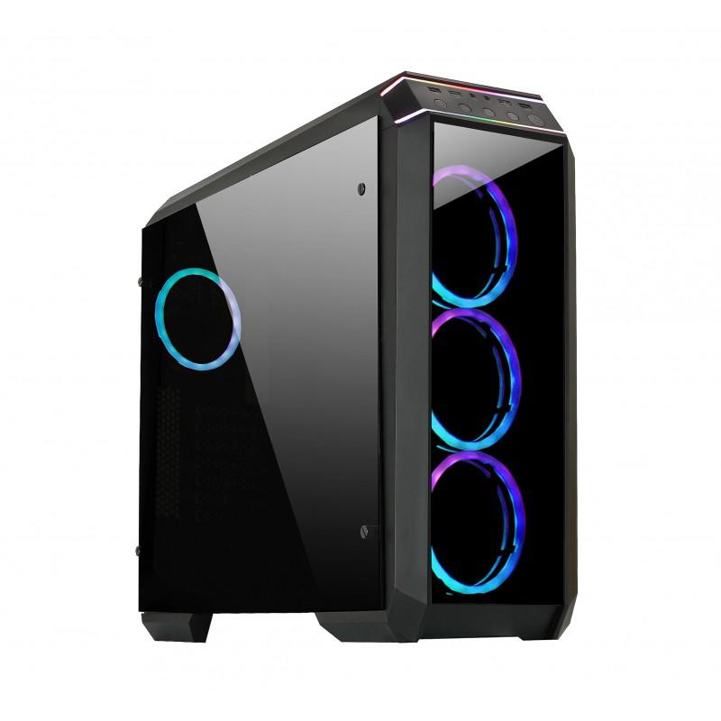 CHIEFTEC STALLION II USB3 ATX RGB ohišje, črno
