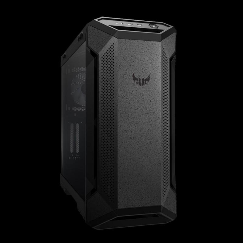 ASUS TUF GAMING GT501 AURA RGB osvetljeno ohišje, črno