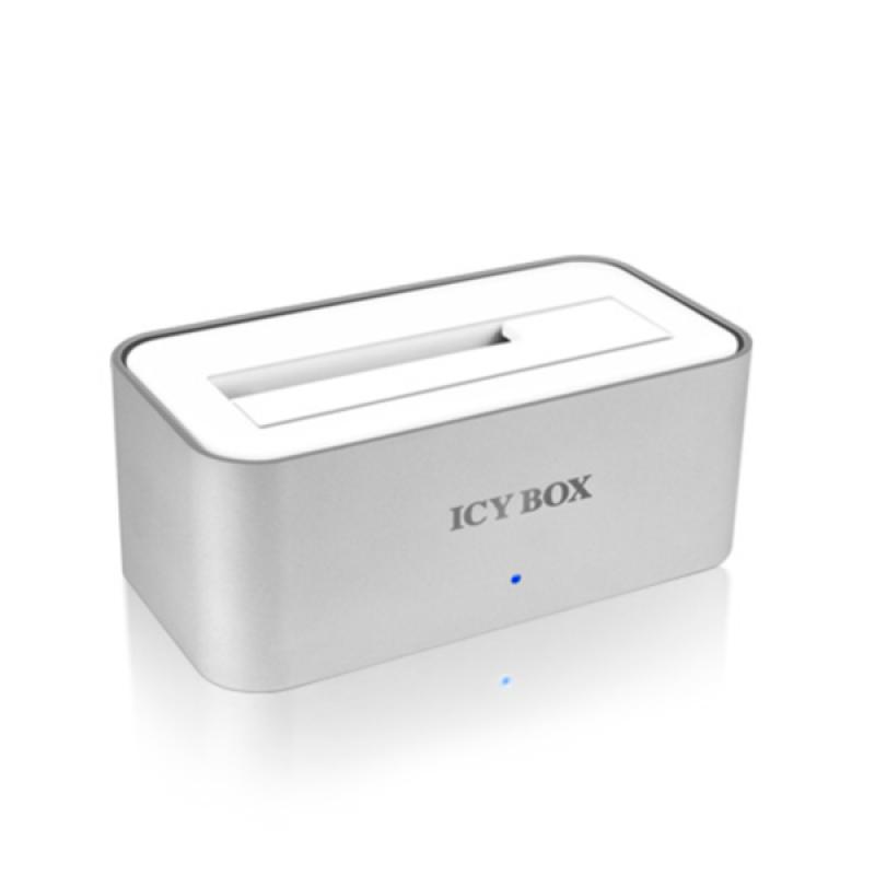 "Icybox IB-111StU3-Wh Docking Station, 2.5"" & 3.5"" SATA, USB 3.0"