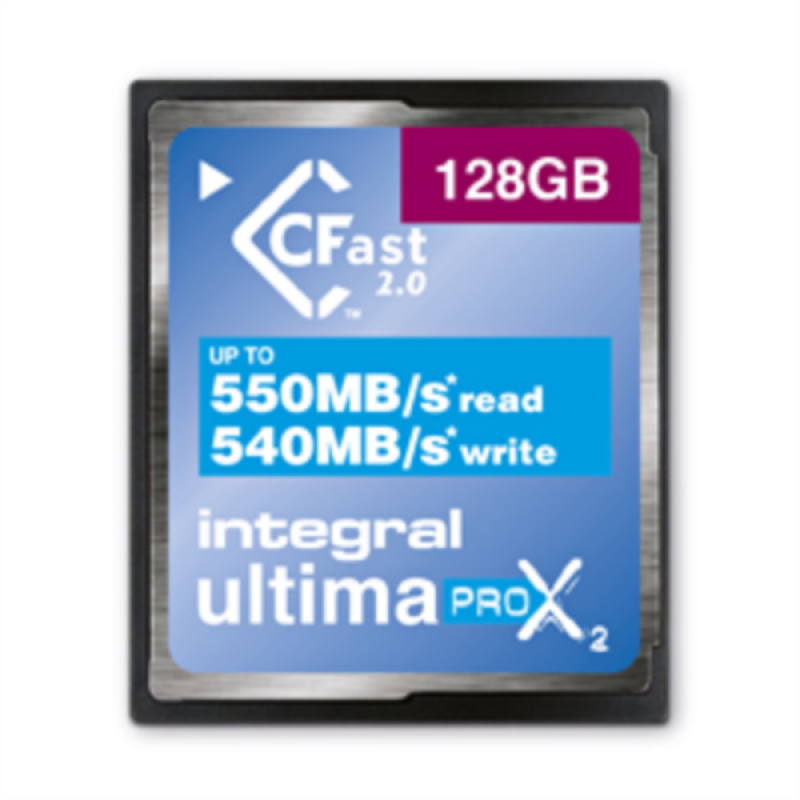 INTEGRAL 128GB ULTIMAPRO X2 CFAST 2.0