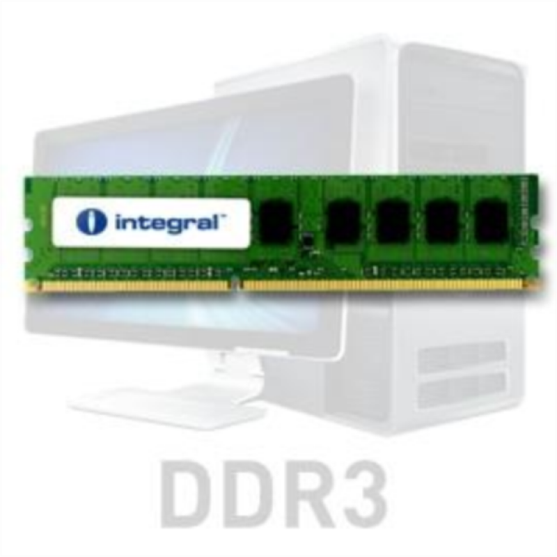 Integral 4GB DDR3-1333 UDIMM PC3-10600 CL9, 1.5V