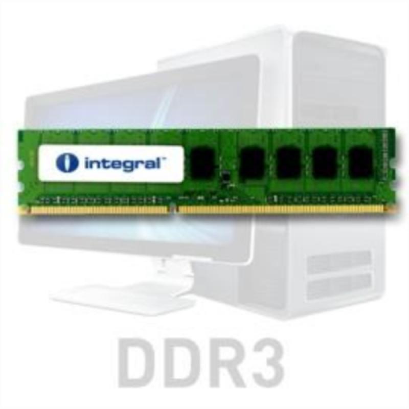 Integral 4GB DDR3-1600 UDIMM PC3-12800 CL11, 1.5V