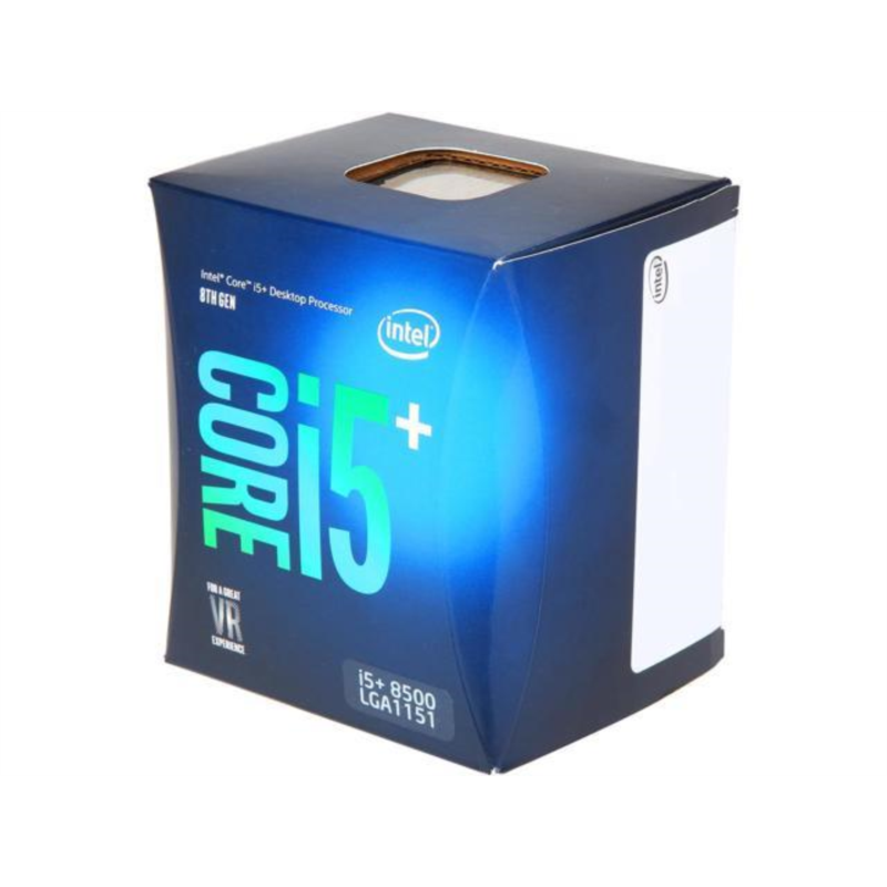Intel Core i5+ 8500 BOX procesor, Coffee Lake
