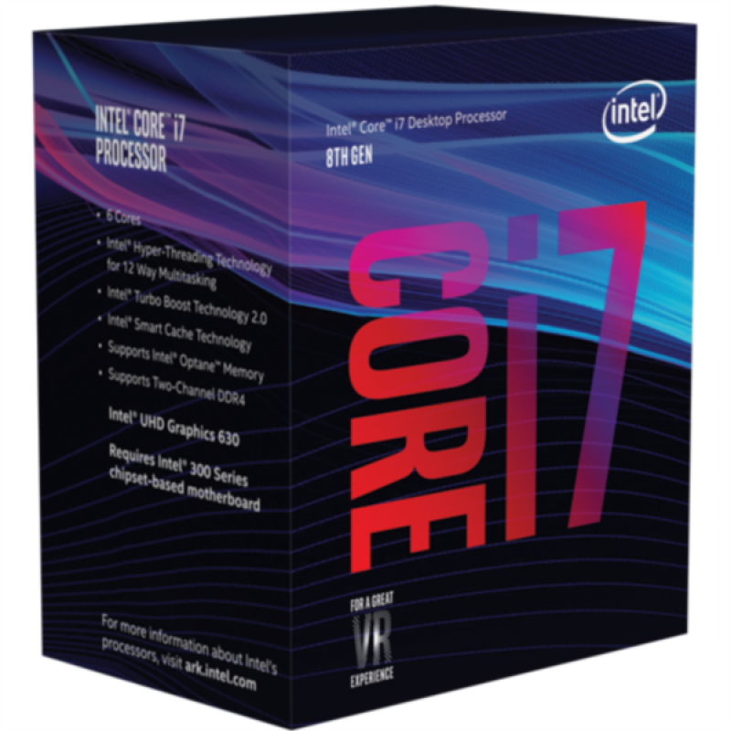 Intel Core i7 8700 BOX procesor, Coffee Lake