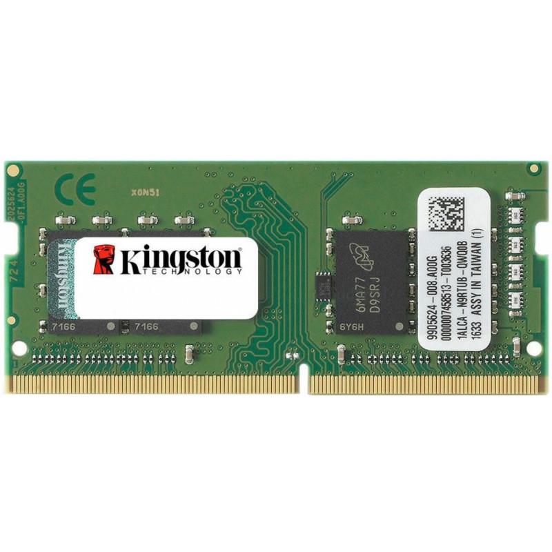 Kingston 8GB DDR4-2400MHz SODIMM PC4-19200 CL17, 1.2V