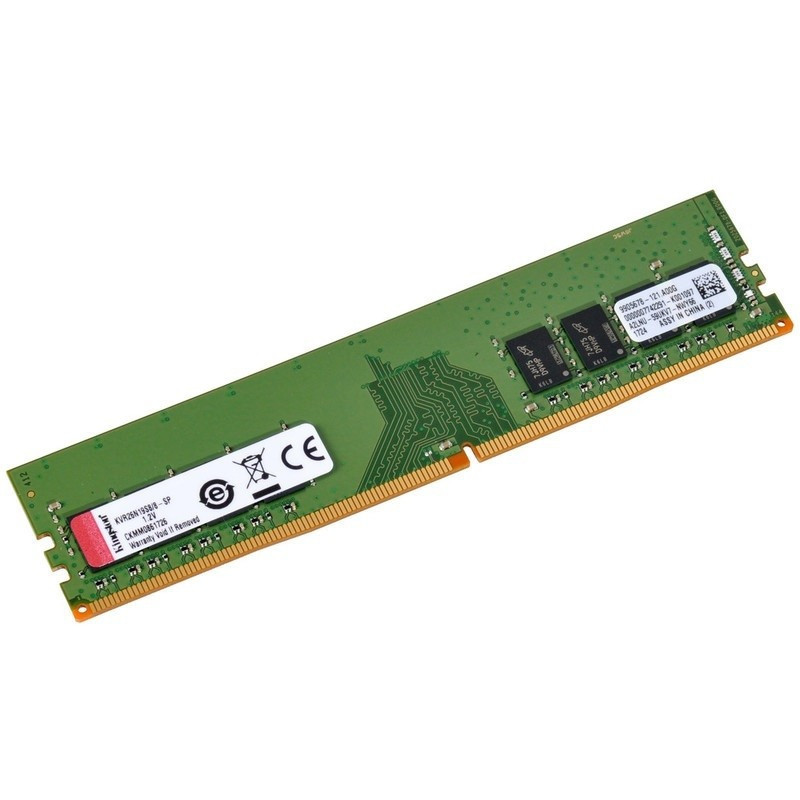 Kingston 8GB DDR4-2666MHz DIMM PC4-21333 CL19, 1.2V