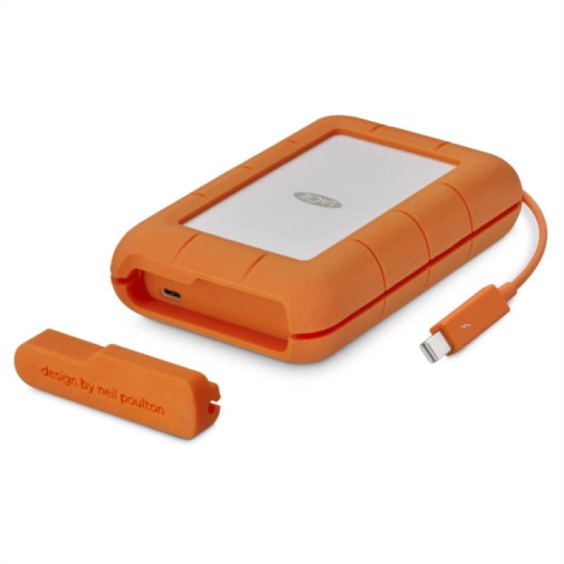 LaCie 4TB Rugged Thunderbolt & USB 3.1 Type C