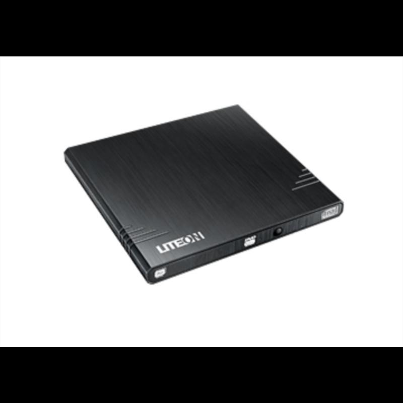 Liteon EBAU108 DVD-RW 8X USB slim zunanji zapisovalnik, črn
