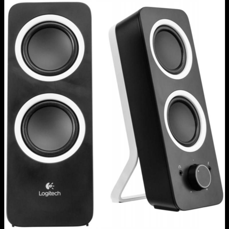 Logitech zvočniki 2.0 Z200 RMS 5W črni
