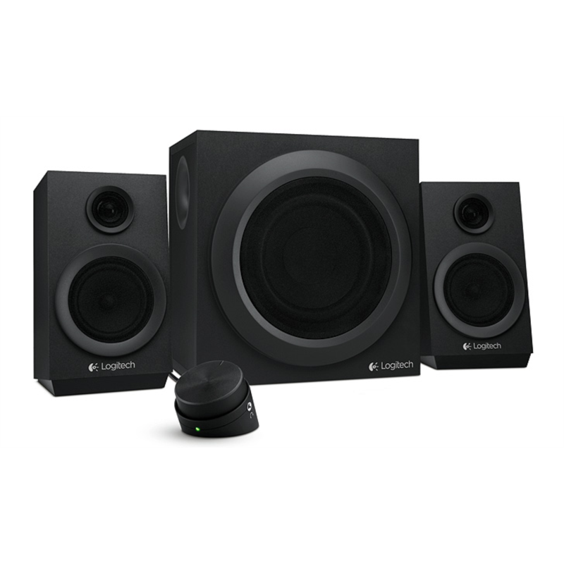 Logitech zvočniki 2.1 Z333 RMS 40W črni