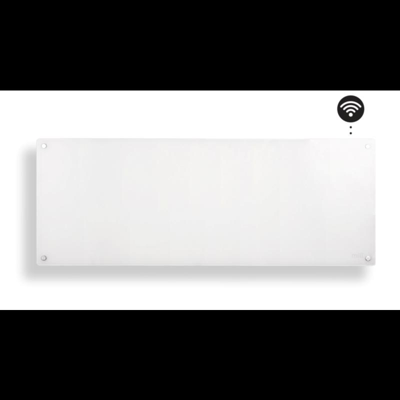 MILL panelni konvekcijski radiator Wi-Fi 1200W steklo AV1200WIFI