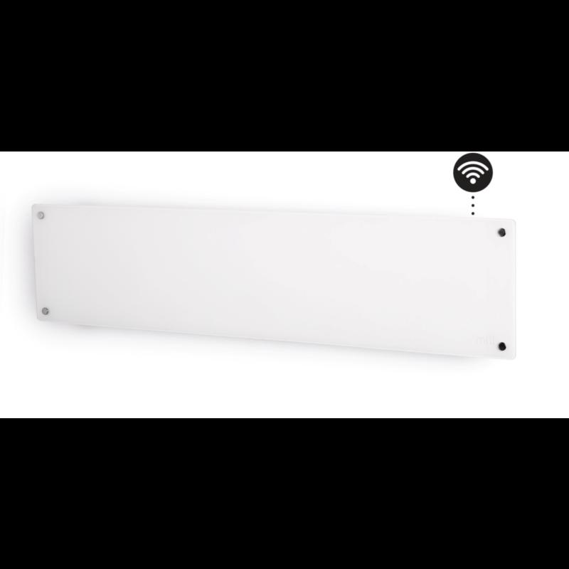 Mill stenski radiator 800W WIFI steklen low profile