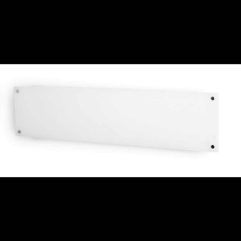 Mill panelni grelnik 1000W bel steklo low profile