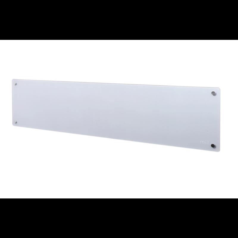 MILL panelni konvekcijski radiator 800W siv steklo low profile MB800L DN G