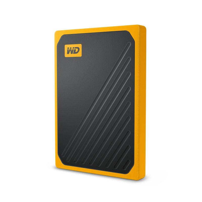 WD 500GB SSD My Passport Go, USB 3.0, rumen