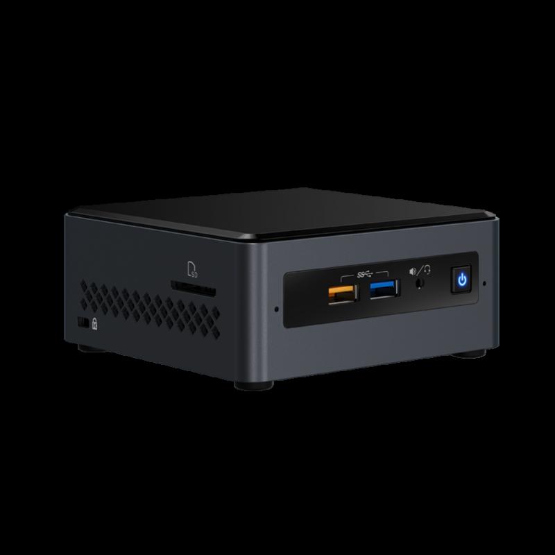 """Intel NUC računalnik Celeron NUC7CJYSAL 2,5"""" z Windows 10 Home"""