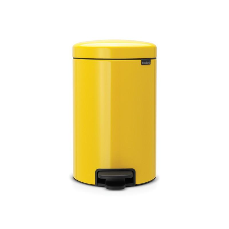 Brabantia koš za smeti 12L rumen