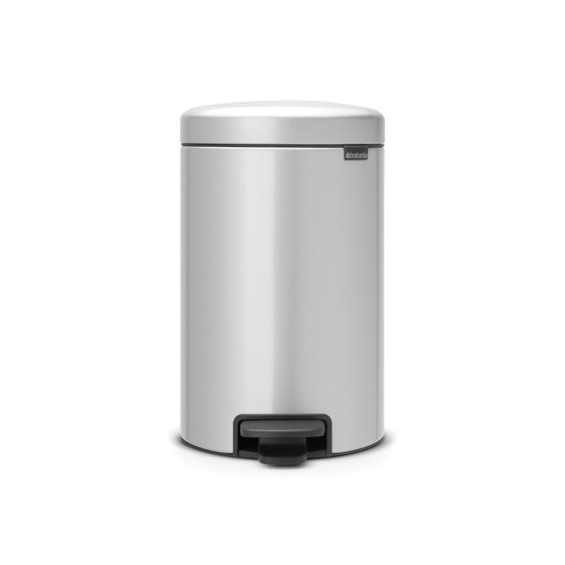 Brabantia koš za smeti 12L siv