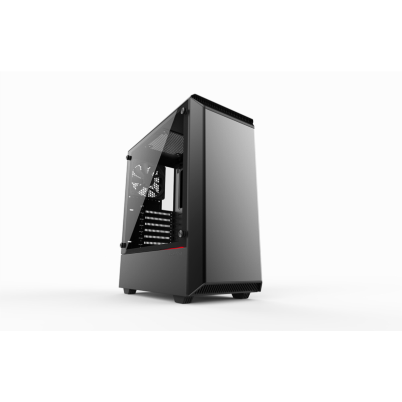 PHANTEKS ECLIPSE P300 TEMPERED GLASS USB3 ATX črno ohišje