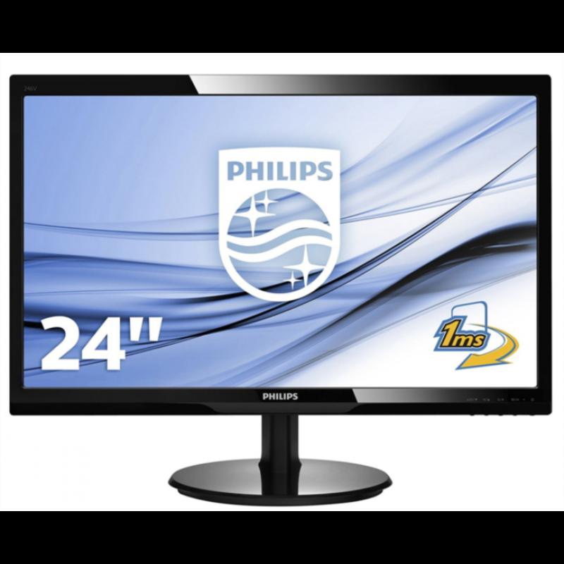 "Philips 246V5LHAB 24"" monitor"