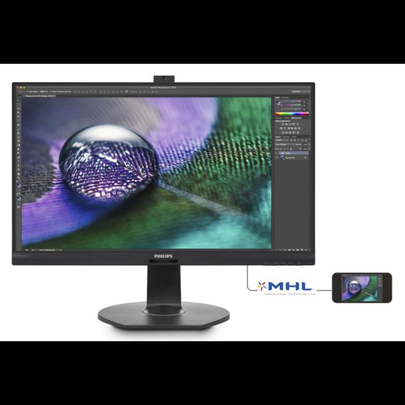 """Philips 272P7VPTKEB 27"""" IPS 4k monitor"""